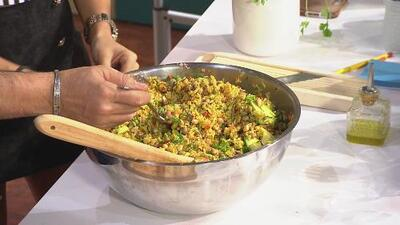 La receta: ensalada de arroz