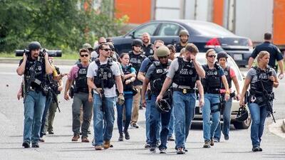 Snochia Moseley, la sospechosa de asesinar a tres personas en el tiroteo de Maryland
