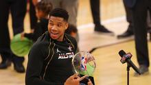 Antetukounmpo rompió un hito con su MVP en el NBA All-Star Game
