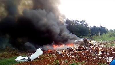 Video: Los segundos después del trágico accidente de avión en Cuba