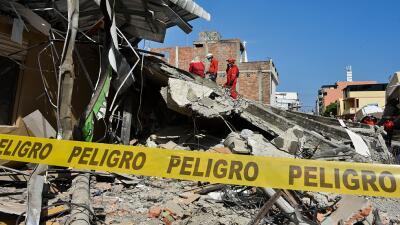 Listado oficial de 301 fallecidos en varias ciudades de Ecuador
