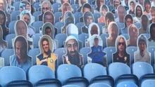 Foto de Bin Laden aparece en estadio de Inglaterra