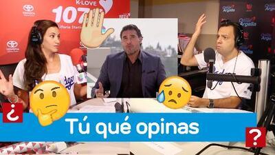 Omar y Argelia reaccionan ante la disculpa de Eduardo Yáñez en El Gordo y La Flaca