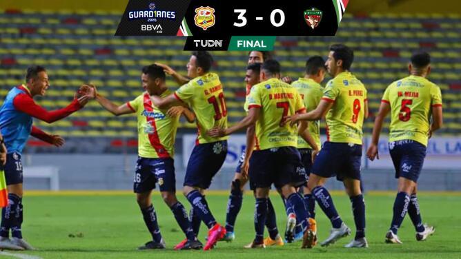 Resumen | Morelia supera 3-0 a Tlaxcala y espera rival en el repechaje