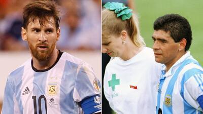 Estados Unidos, la tumba de Lionel Messi y Diego Armando Maradona