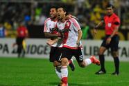 River Plate inicia la defensa de su título con goleada sobre Trujillanos
