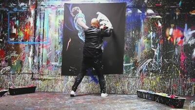 Arte del Mundial: el cabezazo de Zidane a Materazzi y narrado por el árbitro que expulsó al 'Mago' francés