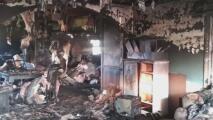 Familia de Carolina del Norte se queda sin casa a consecuencia de un incendio