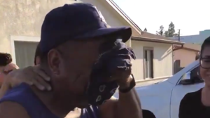 A father gets emotional after finding out what his kids got him for birthday