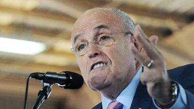 Rudy Giuliani no estará en el gabinete de Trump
