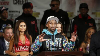 Floyd Mayweather Jr. desmintió a Manny Pacquiao