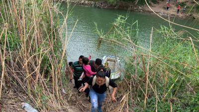 Esta es la forma en que cruzan ilegalmente la frontera hacia Estados Unidos