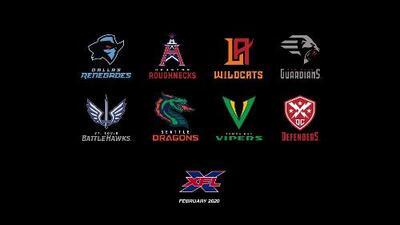 Anuncian nombres de los equipos de la XFL