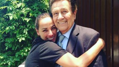 Consuelo Duval dedicó un desgarrador mensaje a su difunto padre