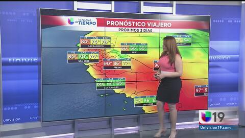 Este viernes será el día más cálido de la semana en Sacramento