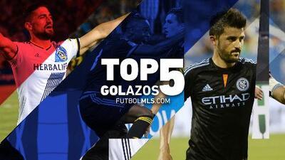 FUTBOL MLS: Top 5 de golazos de la Jornada 18 de la MLS