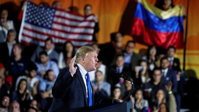 """Trump califica a Maduro de """"marioneta de Cuba"""" y pide a los miembros de su régimen acabar con """"esta pesadilla"""""""