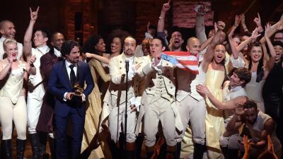 """""""Hamilton"""" gana Grammy y el discurso de aceptación se ha vuelto viral"""