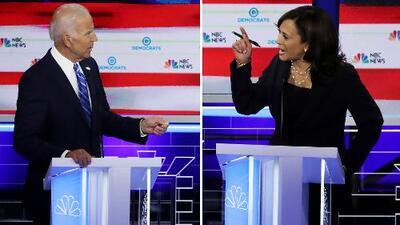Kamala Harris y Joe Biden protagonizaron el segundo día del debate demócrata, ¿quién fue el ganador?