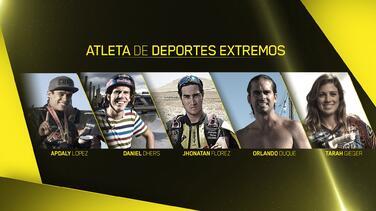 Apdaly López, ganador al premio Atleta Deportes Extremos del Año