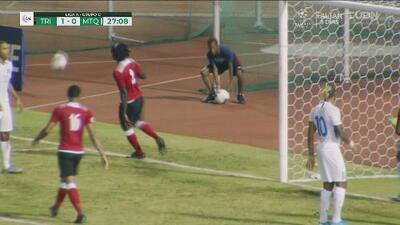 ¡Julio Donisa se pierde el empate para Martinica!