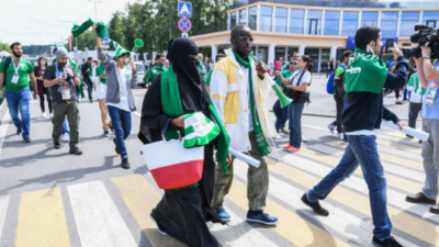 No habrán mujeres de Arabia Saudita en el desfile del Mundial de Rusia 2018