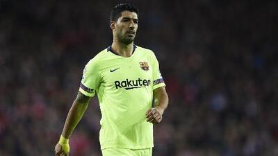 'Pistolero', sin balas: Suárez no marca gol en Champions fuera del Camp Nou desde el 2015