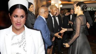 """El video donde un famoso elogia la unión de Meghan Markle con el príncipe Harry y ella responde que no es """"fácil"""""""