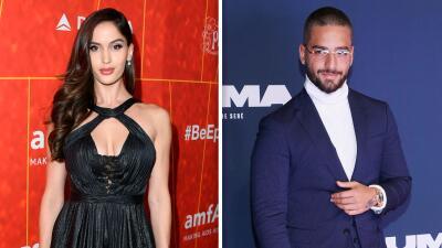 Esto es lo que sabemos de la supuesta ruptura entre Maluma y su novia Natalia Barulich