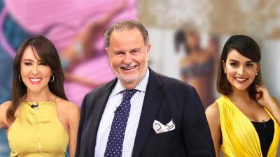 Con esta imagen respondió El Gordo a las fotos de Clarissa Molina y Tanya Charry en bikini