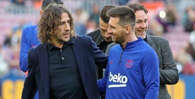 """Carles Puyol se sincera: """"Yo no quería que se fuera Messi"""""""