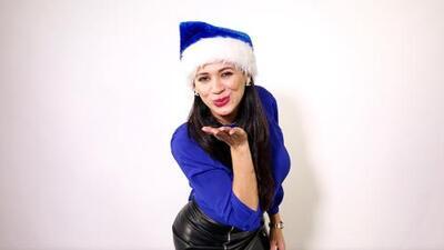 Estar con la familia es el mejor regalo de navidad para Carla Medrano