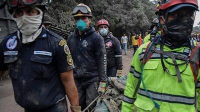 Erupción del volcán de Fuego: pérdida de facciones y huellas digitales hace más difícil la identificación de los cuerpos