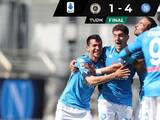 Con un gol de Chucky, Napoli golea a Spezia y se mete a zona de Champions League