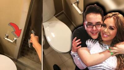 En video: tienes que ver lo que pasó en el baño de la casa de los Rivera
