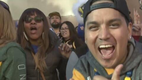 La comunidad de Oakland salió a las calles para festejar el campeonato de los Warriors
