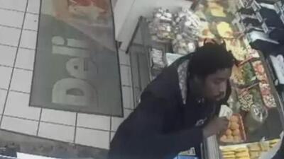 Buscan al sospechoso de agredir con un tubo a empleado de una gasolinera en Staten Island