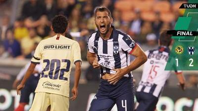 América cayó en amistoso ante Rayados; Chava Cabañas estuvo presente