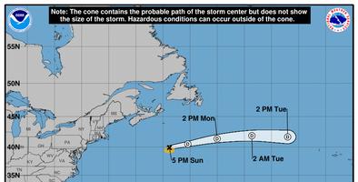 La tormenta Melissa continúa su paso en mar abierto del Atlántico