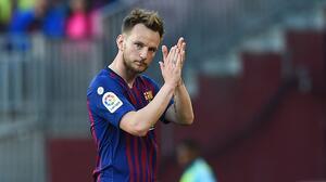 Rakitic causa molestia en el Barça por eufórica celebración tras título del Sevilla