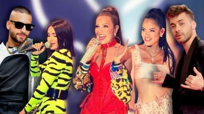 10 cantantes urbanos con los que Thalía ha hecho historia en el género