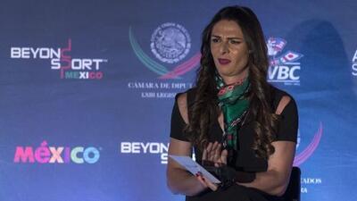 """Ana Guevara: """"la corrupción ha permitido que el Gran Premio regrese a la Ciudad de México"""""""