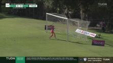 Diana Evangelista por poco termina sorprendiendo a Villeda con el 0-1