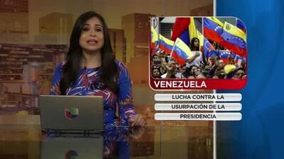 Comunidades en todo el país luchan contra la usurpación de la Presidencia en Venzuela