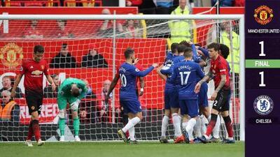 Un error de David De Gea le permite al Chelsea permanecer en puestos de Champions