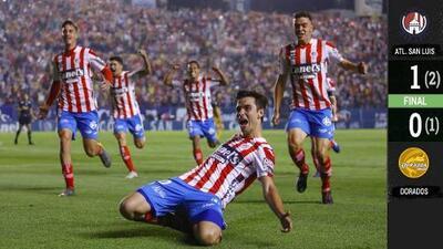 Y volver, volver... ¡Atlético San Luis vuelve a Primera División!