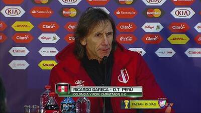 """Ricardo Gareca: """"No tuvimos profundidad"""""""