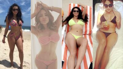 EN FOTOS: Carla Medrano y La Bronca derraman sensualidad con sus bikinis favoritos