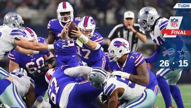 Josh Allen encabeza la humillación de los Bills ante Cowboys