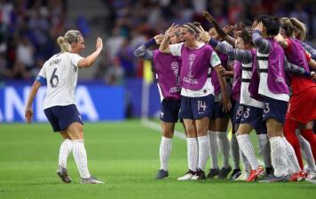 En fotos: Francia dejó en el camino a Brasil en un gran partido del Mundial femenino